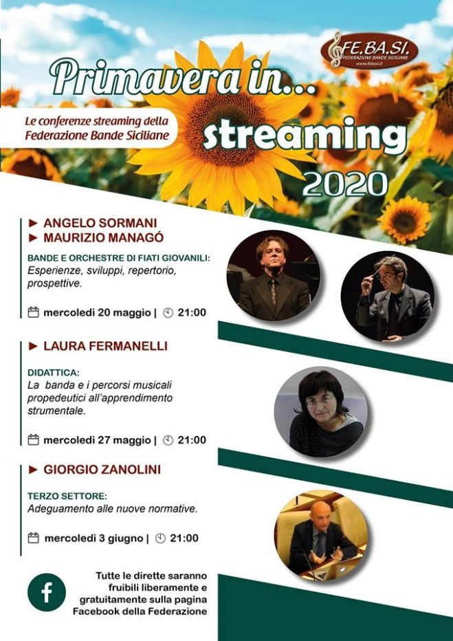 Primavera in streaming 2020